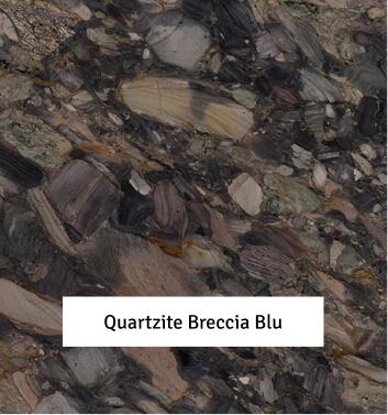 Quartzite Breccia Blu